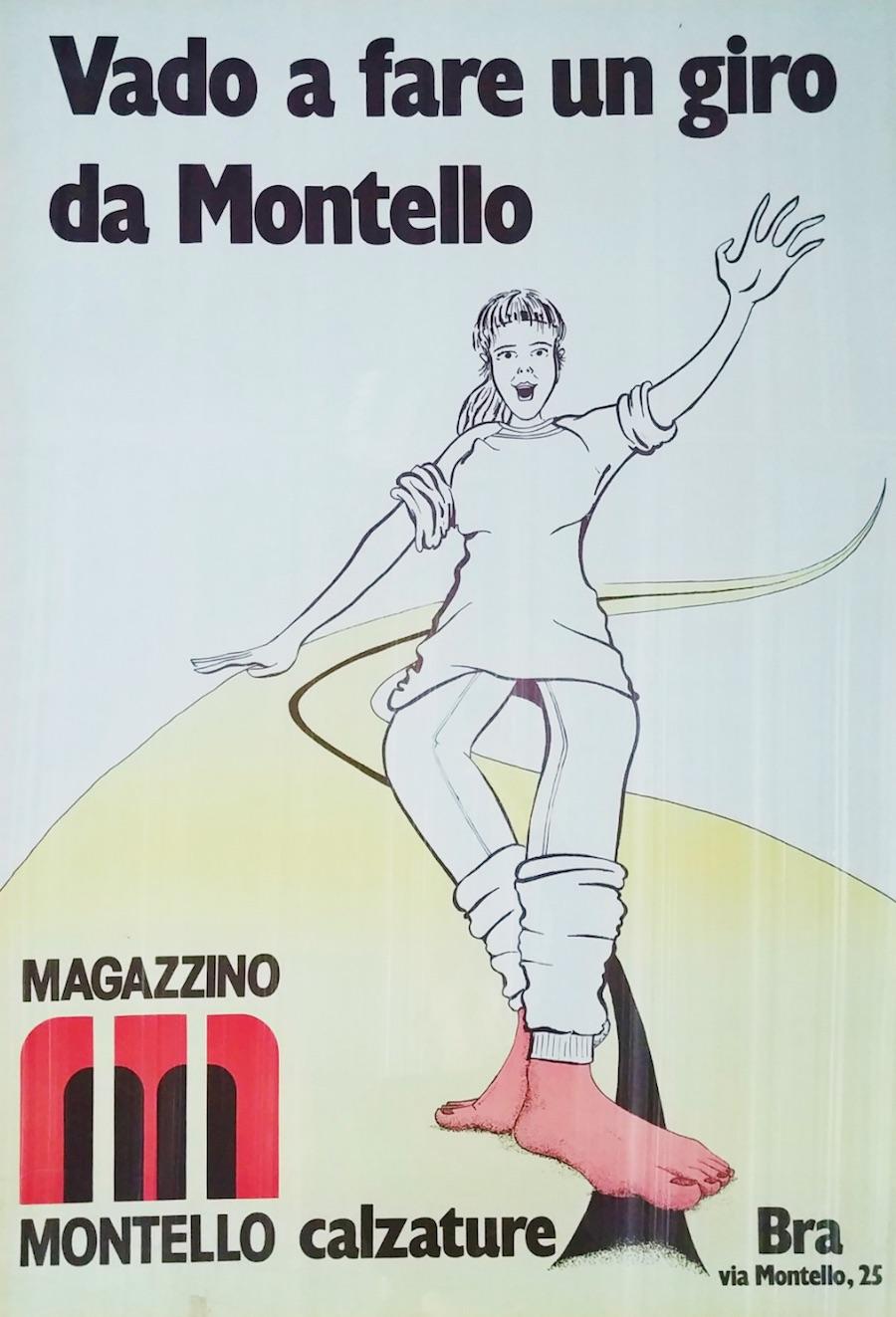 """Una pubblicità storica del Magazzino, in cui si invita ad """"andare a fare un giro"""""""