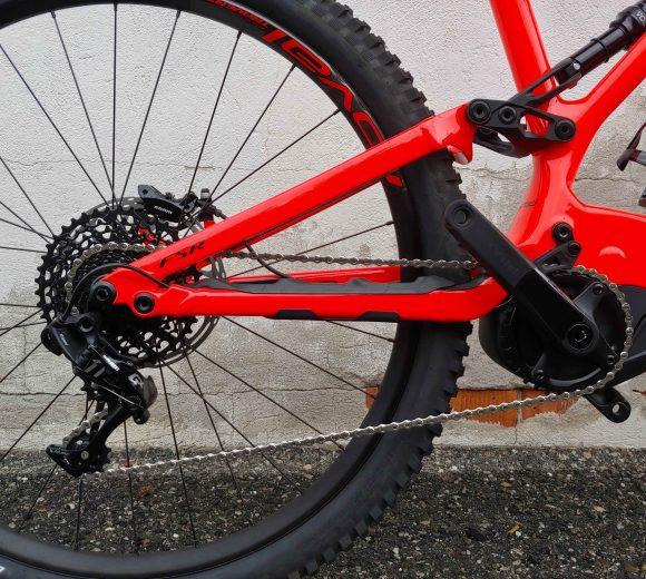 Bici Levo Fsr Comp Carbon Dettaglio Ruota Posteriore