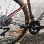Bici Tarmac Sworks Disc Dettaglio Cambio